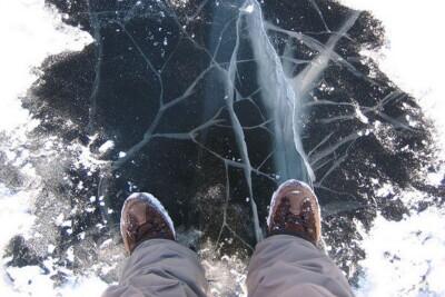 Тонкий лед очень опасен!